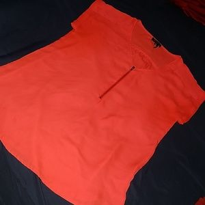 Guess? Dressy Top with Zip Front